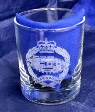 Royal Tank Regiment - Whisky Glass